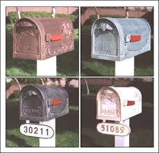 Decorative Mail Boxes Mailboxes Residential Locking Commercial Custom Decorative 71