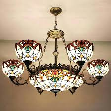 antique stained glass chandelier antique stained glass chandeliers for beautiful original with regard to brilliant