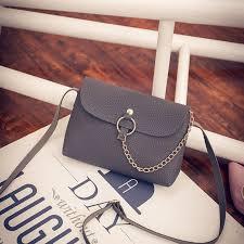 las chain shoulder bags women messenger bags small clutch purse saddle women leather handbag small bag
