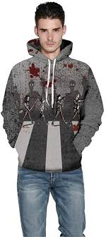 Adelina <b>Halloween</b> Woman <b>Men</b> Sweatshirt <b>Blood</b> 3D Hoodie ...