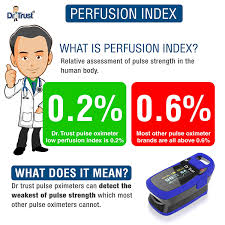 Perfusion Index Chart Dr Trust Usa Professional Series Finger Tip Pulse Oximeter With Audio Visual Alarm And Respiratory Rate Blue