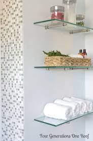 19 Glass Shelves In Bathroom Ideas Shelves Glass Shelves In Bathroom Bathroom Decor