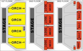 Orpheum Sf Seating Chart Bright Orpheum Theater San Francisco Seating Chart Free Baby