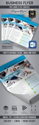 Flyer Templates Word 10 Best Business Flyer Templates In Word By Elegantflyer