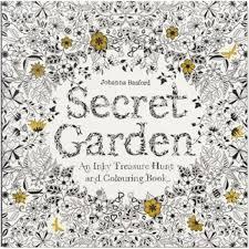 coloring book secret garden an inky treasure hunt