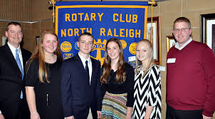 rotary against drugs speech contest rotary club of north  tim gillespie l r today s winners are left right maggie lee amp tim