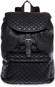 SM New York Faux Leather Quilted Pocket Backpack | Where to buy ... & ... SM New York Faux Leather Quilted Pocket Backpack Adamdwight.com