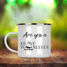 Prerušovaný půst je velmi stará metoda stravování postavená na konceptu. Amazon Com Are You A Brave Wanderer Coffee Tea Enamel Camp Mug 12 Oz Handmade