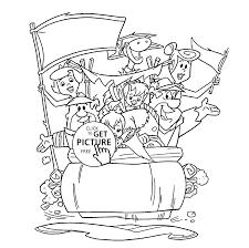 Small Picture Flintstones coloring pages for kids printable free Flintstones