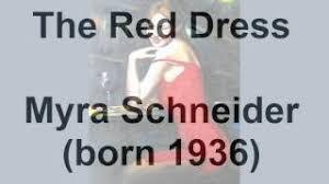 THE RED DRESS by Myra Schneider … a poetry reading – Jamie Dedes' THE POET  BY DAY Webzine