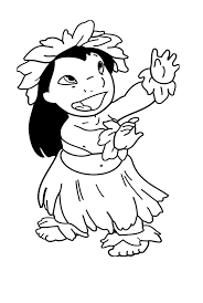 Small Picture For Kids Download Hawaiian Coloring Pages 40 For Coloring for Kids