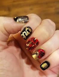 Chinese Nail Art Designs Pin By 99outfit On Nail Art Design New Years Nail Art
