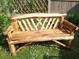 Rustic garden furniture Bespoke Rustic Outdoor Bench Nymyxessinfo Rustic Outdoor Bench Rustic Garden Furniture Trend And Ideas