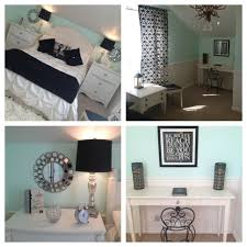 Paris Themed Girls Bedroom Mint Bedroom Teen Girls Bedroom Paris Theme With Silver Black