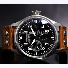 aliexpress com buy 47mm parnis black dial luminous power reserve aliexpress com buy 47mm parnis black dial luminous power reserve st2530 movement adjust date automatic mens watch p98 from reliable watch cell suppliers