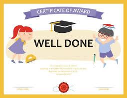 Achievement Awards For Elementary Students 27 Printable Award Certificates Achievement Merit Honor
