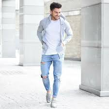What To Wear With Light Blue Jeans Men Pin By M Mostafa On Should Wear It Mens Fashion __cat__