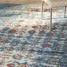 captivating orange and blue area rug with awesome pattern chair wooden floor rugs ikea all modern s lattice plush for living room bedroom