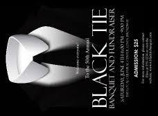 Black Tie Invitation