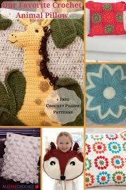 Crochet Pillow Patterns Interesting Our Favorite Crochet Animal Pillow 48 Free Crochet Pillow Patterns