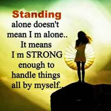alone but happy es for s