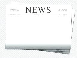 Blank Newspaper Article Template Pdf 3 Column Inside Page ...