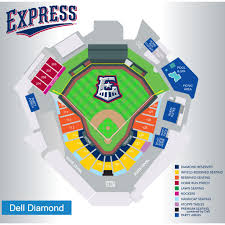 Mccombs Field Seating Chart Round Rock Express Seating Chart Express