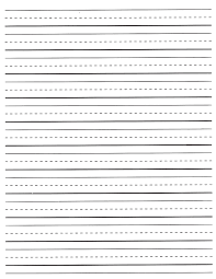 Free Lined Paper For Kids Printable Lined Paper For Kids World of Label 1