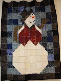 Snowman Rag Quilt. … | quilting | Pinterest | Rag quilt, Snowman ... & Snowman Rag Quilt. Adamdwight.com