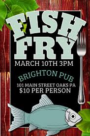 Fish Fry Flyer Microsoft Office Fish Fry Template Postermywall