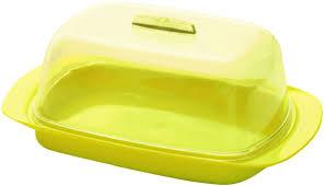 """<b>Масленка</b> """"Plastic Centre"""", цвет: желтый, 18 х 7 х 11,5 см — купить ..."""