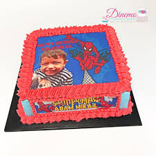 Spiderman Fresh Cream Cake By Dinemo Homemade Bakery Facebook