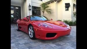 2008 ferrari 430 f1 spider rosso corsa red w/ tan leather interior, f1 trans, only 10k mi, carbon fiber dash inserts, carbon fiber center. Sold 2004 Ferrari 360 Modena Spider For Sale By Auto Europa Naples Youtube