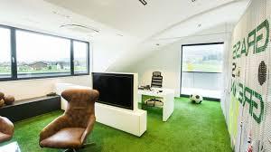 Green office Wall Facebook Grass Is Green Office