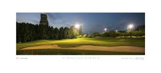 stonehouse golf collection golf prints framed on canvas or giclee al hamra golf club