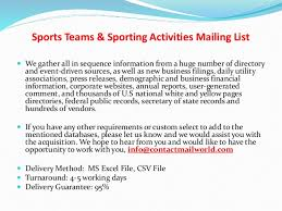 list of sports teams sports teams sporting activities mailing list