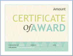 Free Editable Certificate Templates For Word Amazing Free Editable Award Certificate Template Word 48 PowerTaq