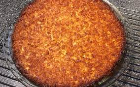 impossible coconut pie recipe with