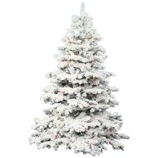 Flocked Christmas Tree Vickerman 36 Prelit Flocked Alaskan Pine Artificial Christmas
