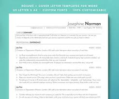 Resume Tracking Inspiration ATS Resume Template Resume Template Resume CV Resume For Etsy