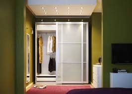 image of free standing wardrobe closet plans