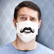 Decorative Surgical Masks Funny Mustache Surgical Mask Dental Rocket Designer Dental 14