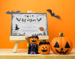 Costume Contest Certificate Template Halloween Party Best Costume Contest Printable Certificate Cosplay Fancy Dress Competition Instant Download Award Template Vote Card