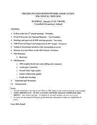 Annual Agenda 24 Images Of Annual HOA Meeting Agenda Template Leseriail 15