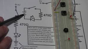 learn electronics quick video series tutorials 6 schematic reading learn electronics quick video series tutorials 6 schematic reading basics