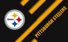 Download Wallpapers Pittsburgh Steelers 4k Afc North Logo