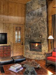 rustic stone fireplace design ideas remodel pictures houzz