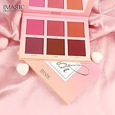 Gulin Rouge Fashion <b>Blush</b> with <b>6 Colors</b> 1pcs Waterproof Party for ...