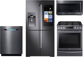 Gas Kitchen Appliance Packages 4 Piece Kitchen Package With Nx58k9500wg Gas Range Rf28k9580sg