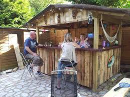 diy outdoor bar outdoor tiki bar